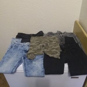 (5) Pair of Girls Size 12 Jeans
